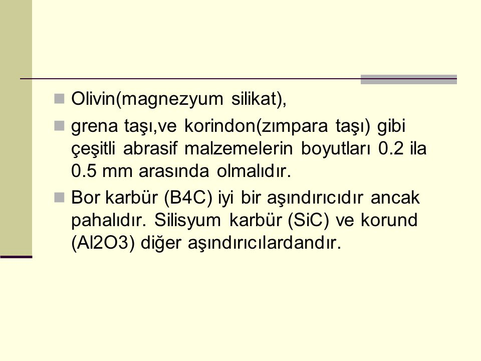 Olivin(magnezyum silikat),