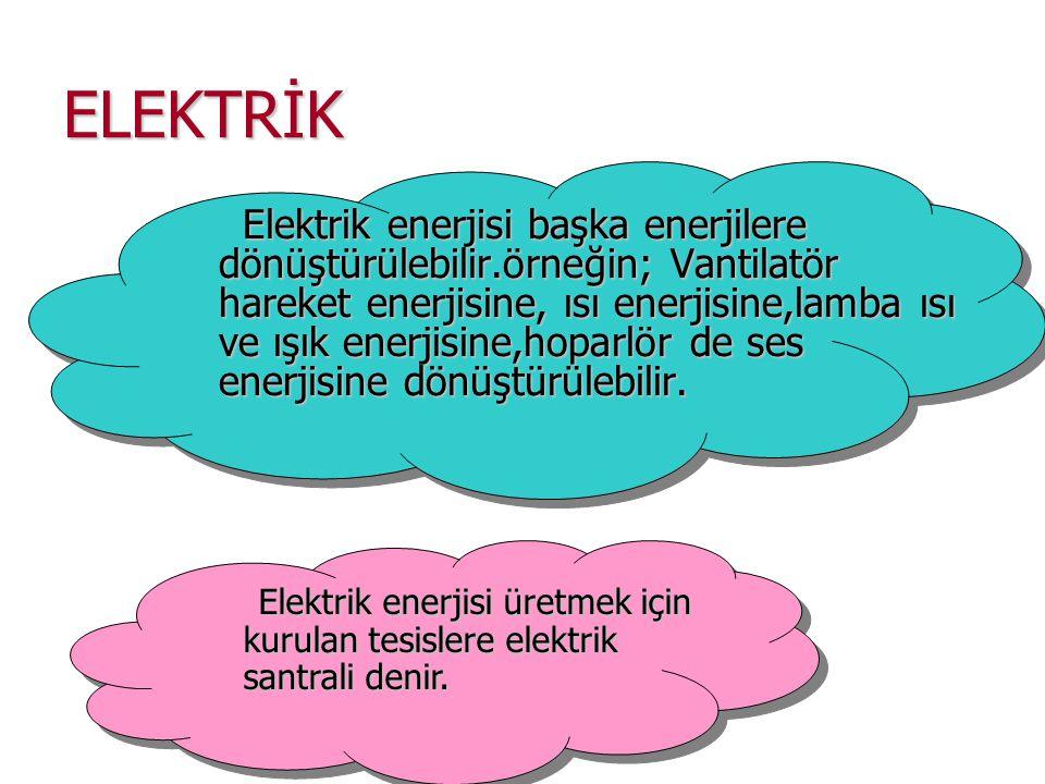 ELEKTRİK