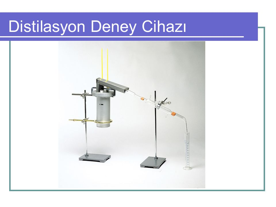 Distilasyon Deney Cihazı