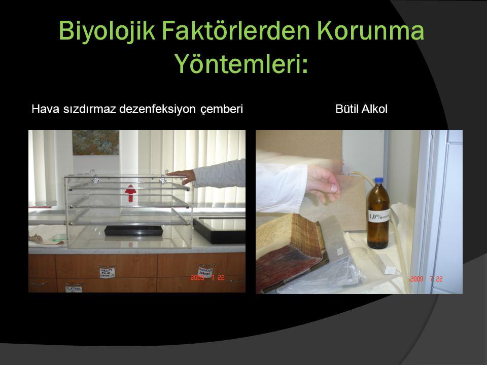 Biyolojik Faktörlerden Korunma Yöntemleri: