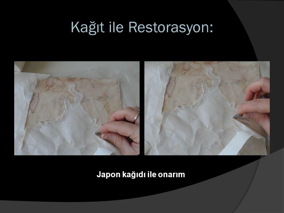 Kağıt ile Restorasyon: