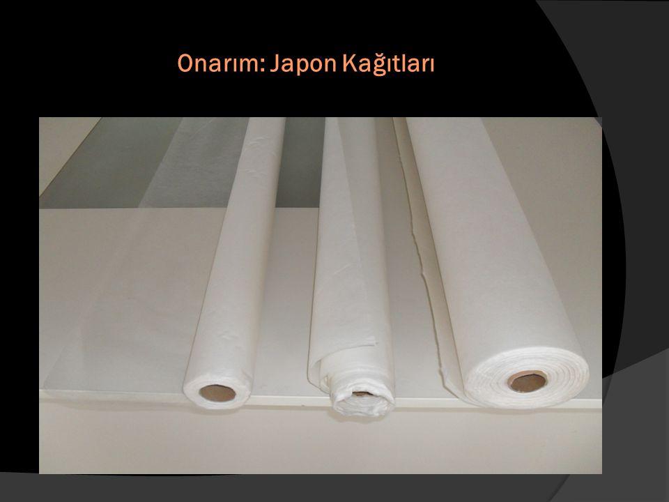Onarım: Japon Kağıtları