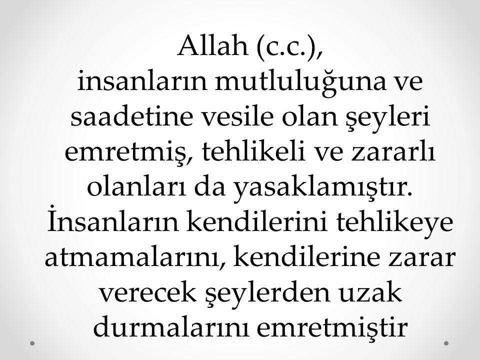 Allah (c.c.),