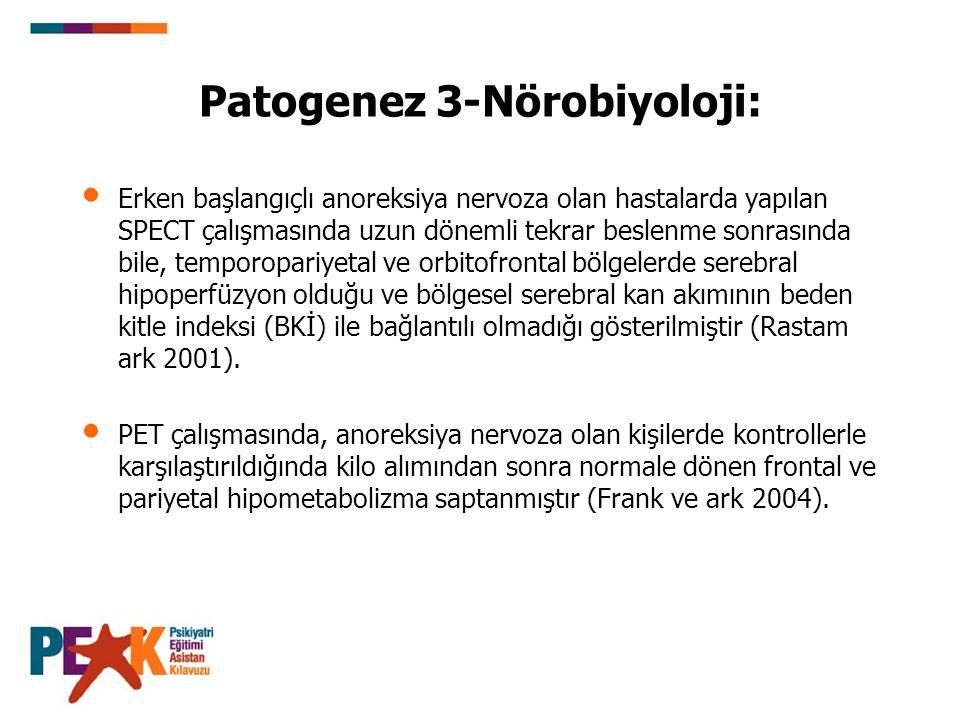 Patogenez 3-Nörobiyoloji: