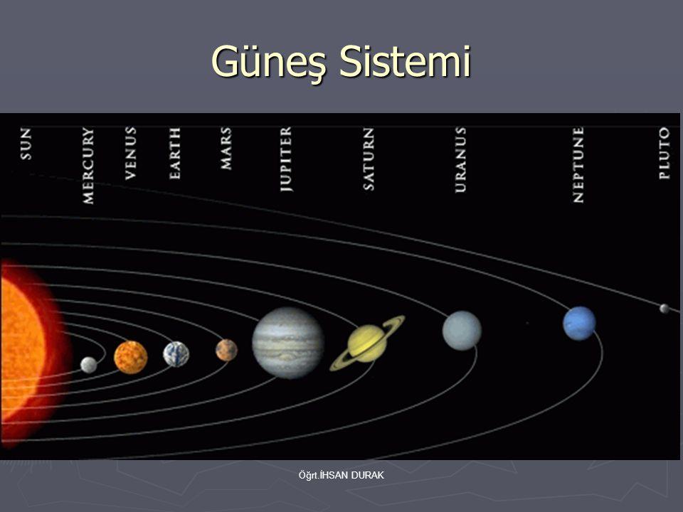 Güneş Sistemi Öğrt.İHSAN DURAK