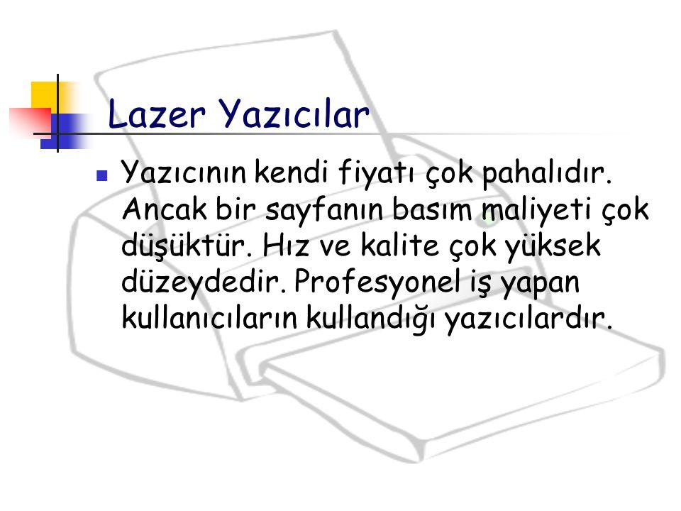 Lazer Yazıcılar