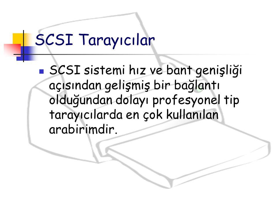 SCSI Tarayıcılar