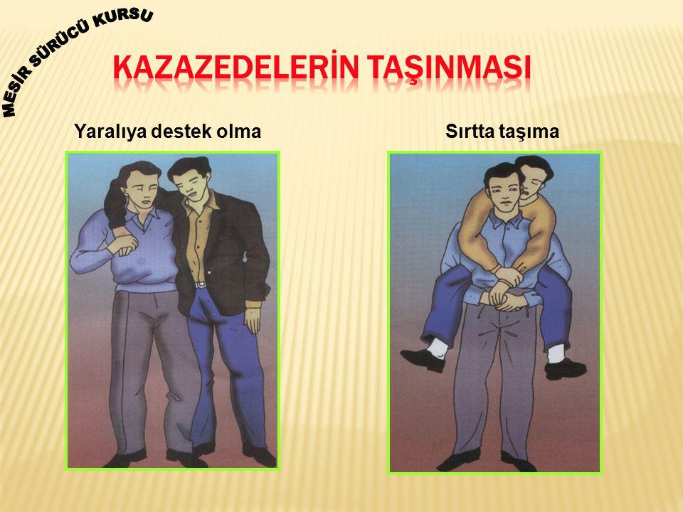 KAZAZEDELERİN TAŞINMASI