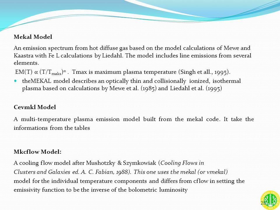 Mekal Model