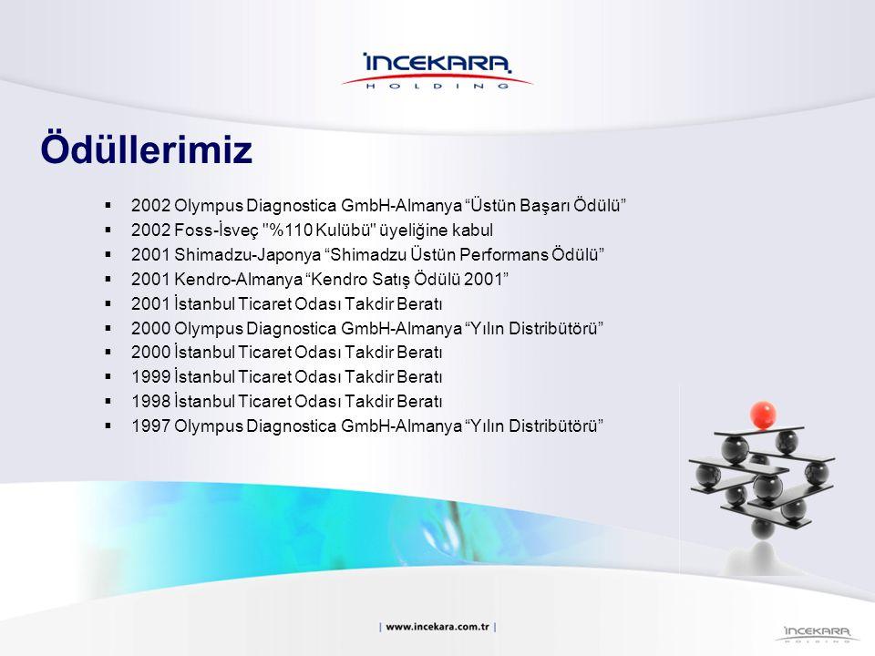Ödüllerimiz 2002 Olympus Diagnostica GmbH-Almanya Üstün Başarı Ödülü