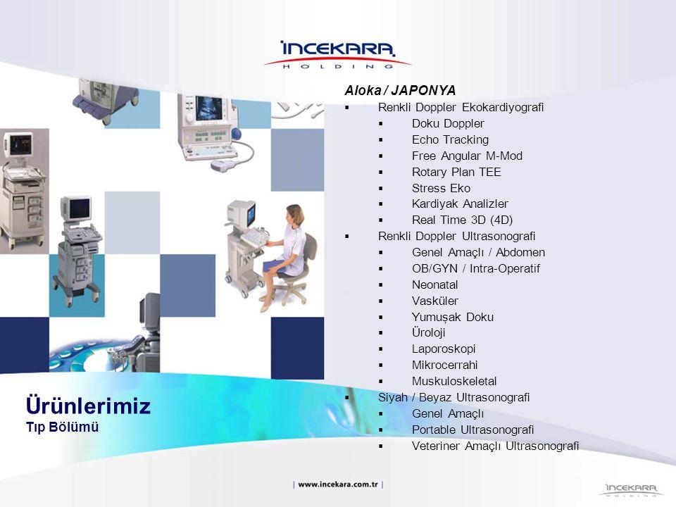 Ürünlerimiz Tıp Bölümü