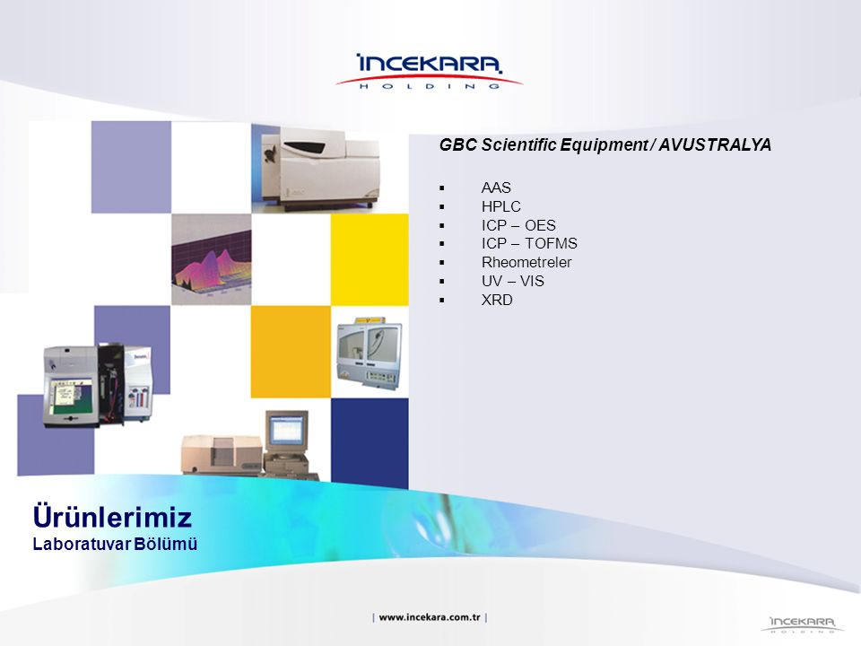 Ürünlerimiz Laboratuvar Bölümü