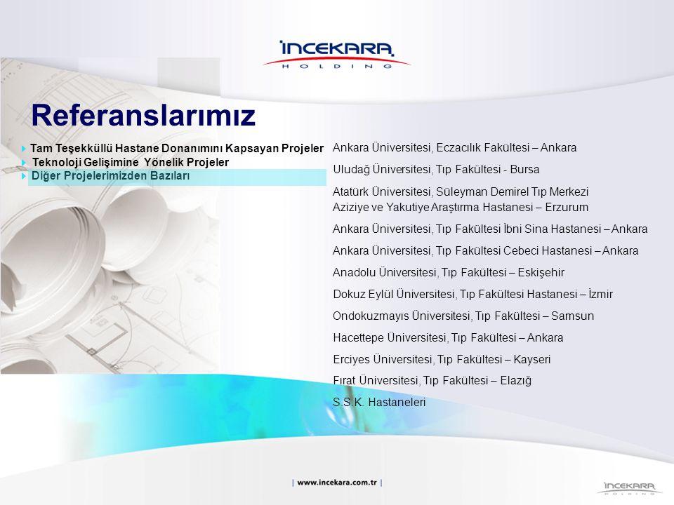 Referanslarımız Ankara Üniversitesi, Eczacılık Fakültesi – Ankara