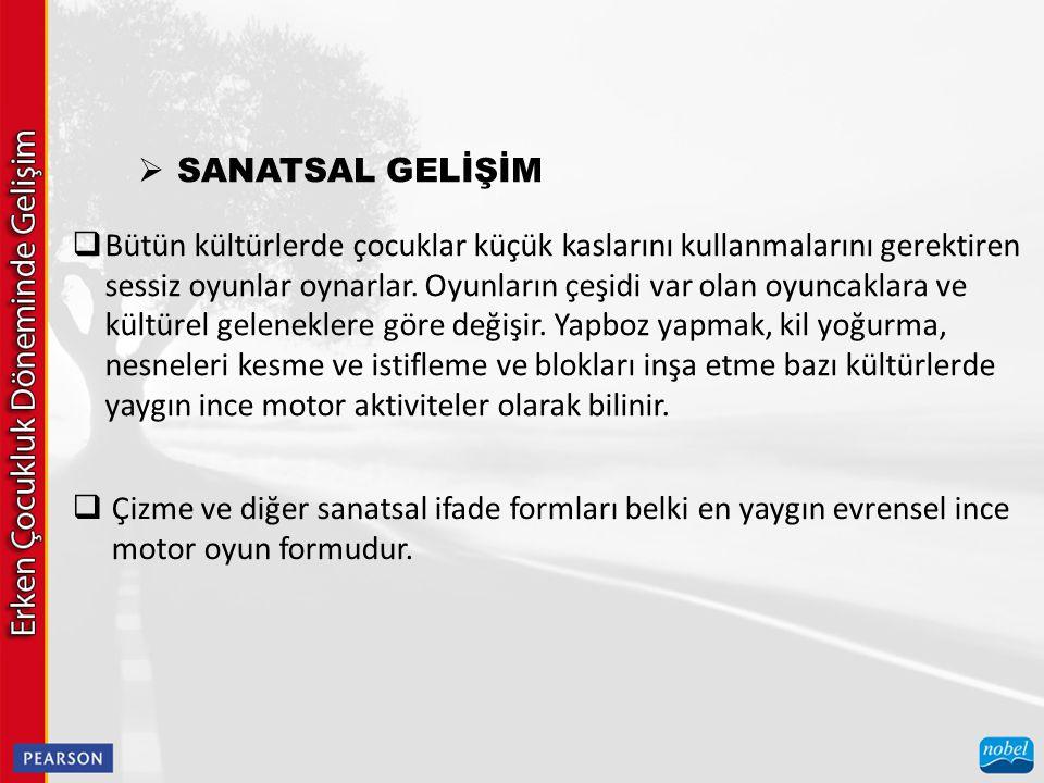 SANATSAL GELİŞİM