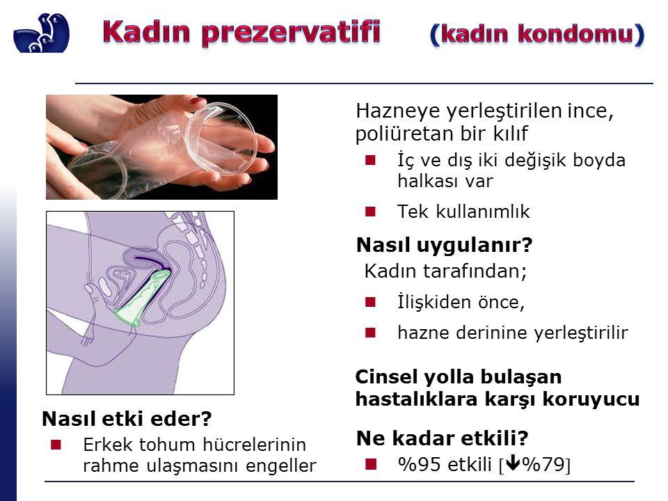 Kadın prezervatifi (kadın kondomu)