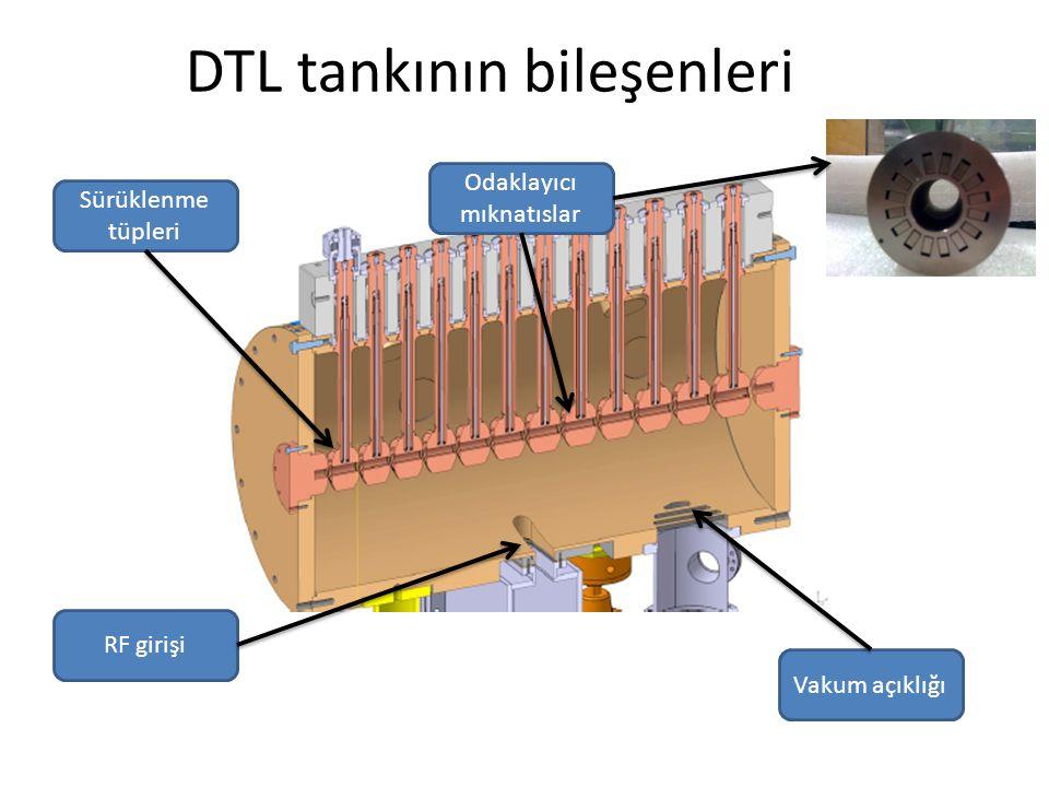 DTL tankının bileşenleri