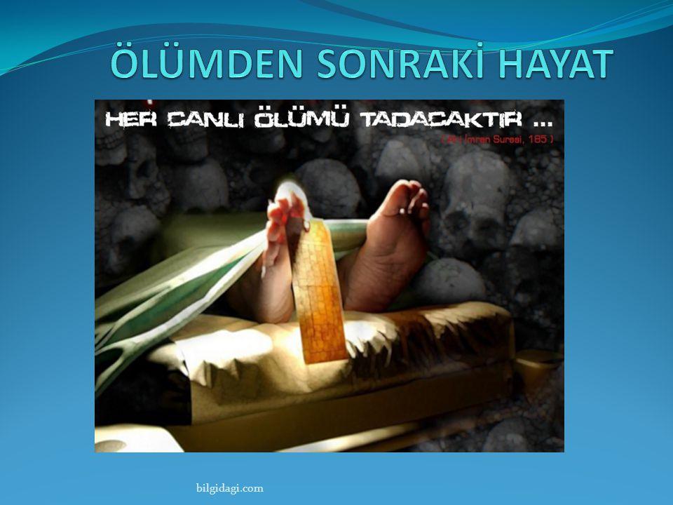 ÖLÜMDEN SONRAKİ HAYAT bilgidagi.com