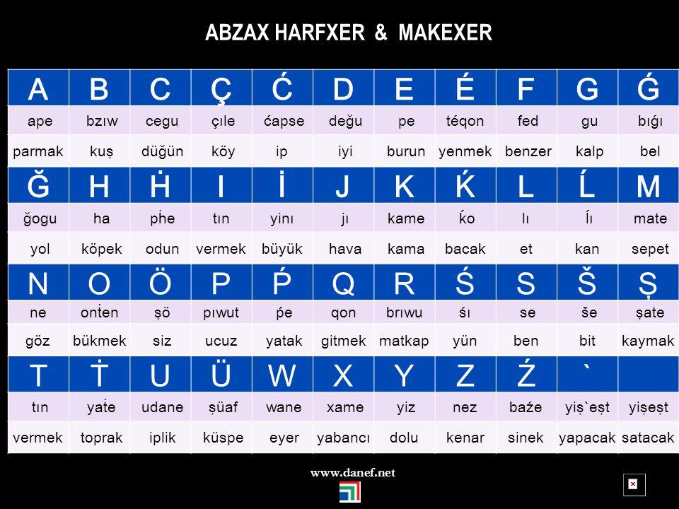 ABZAX HARFXER & MAKEXER