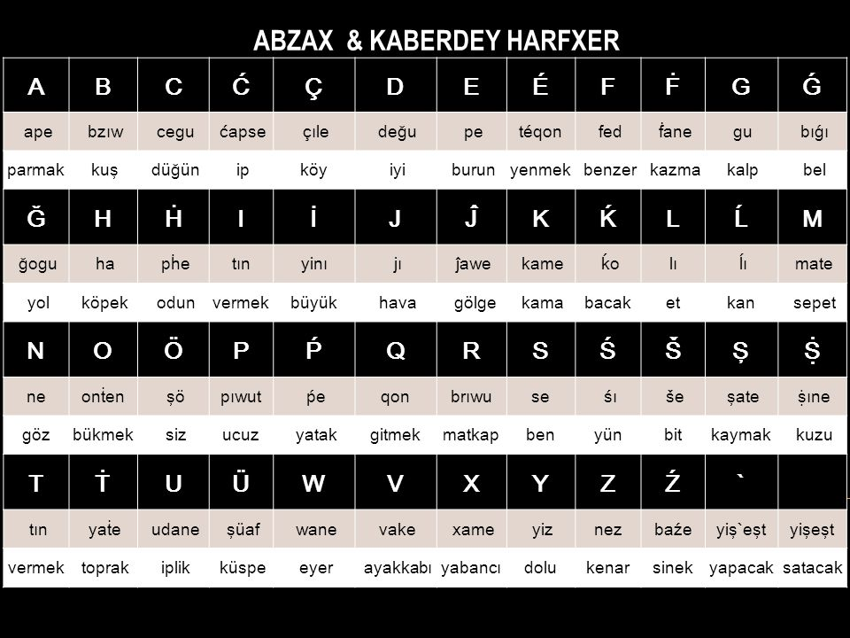 ABZAX & KABERDEY HARFXER