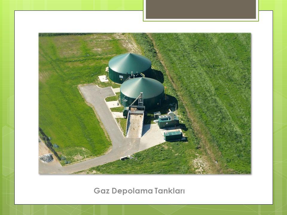 Gaz Depolama Tankları