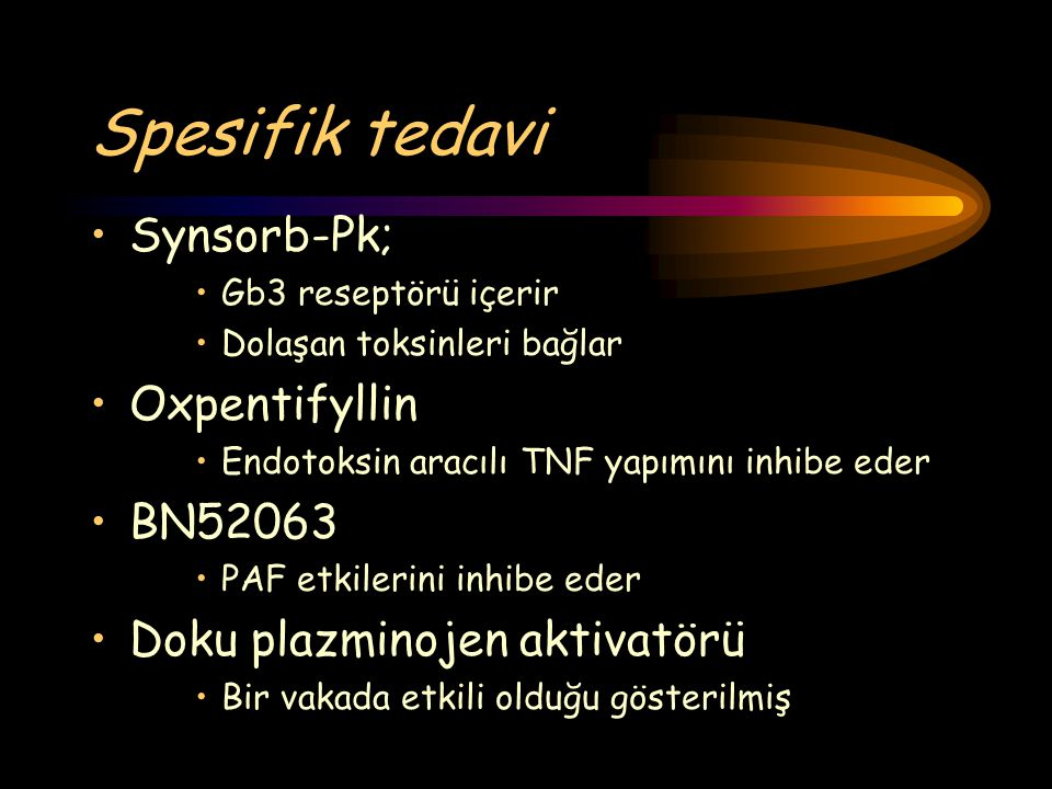 Spesifik tedavi Synsorb-Pk; Oxpentifyllin BN52063