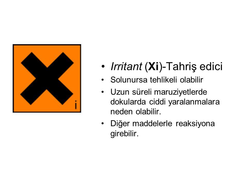 Irritant (Xi)-Tahriş edici