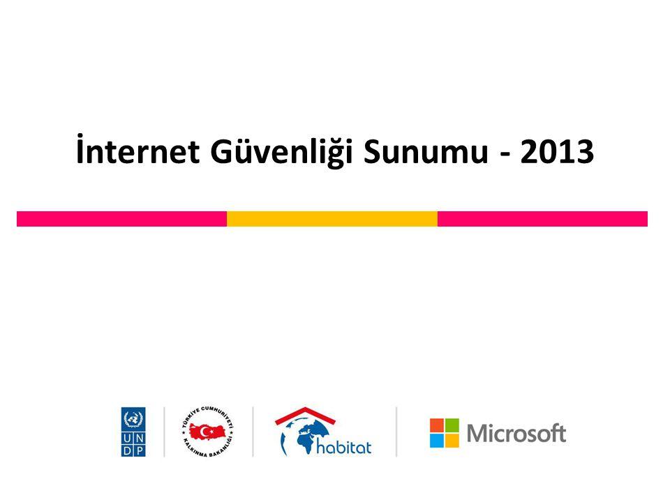 İnternet Güvenliği Sunumu - 2013