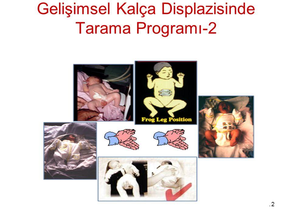 Gelişimsel Kalça Displazisinde Tarama Programı-2
