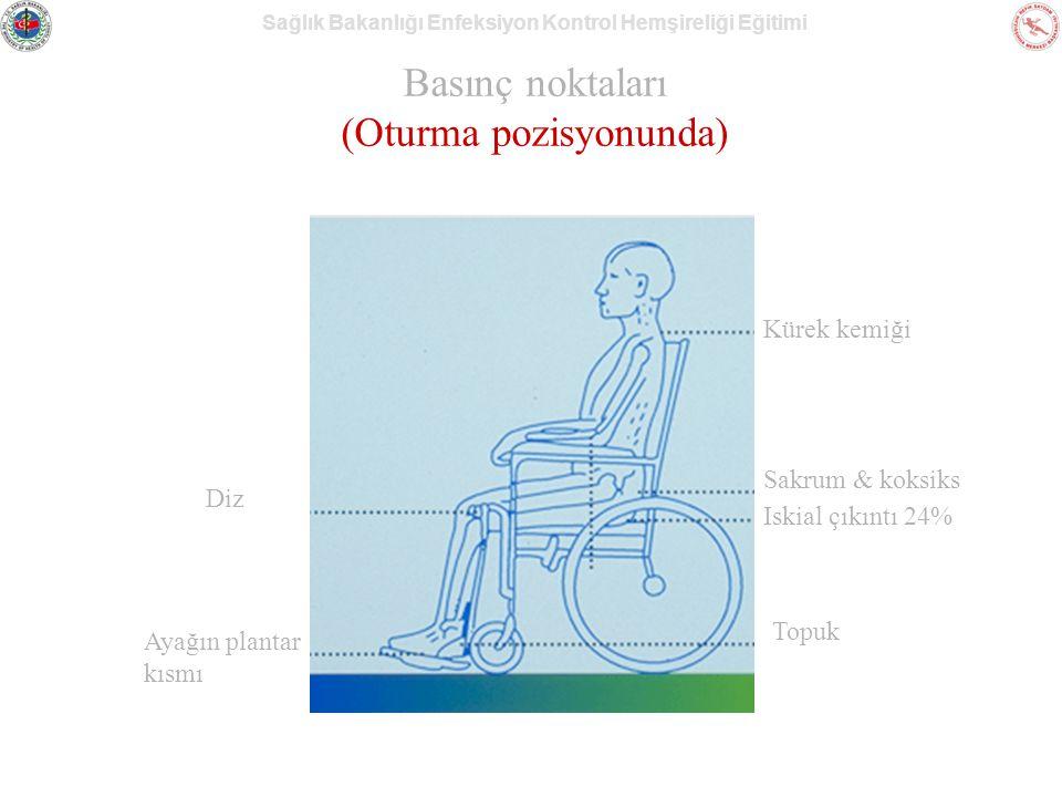 Basınç noktaları (Oturma pozisyonunda)