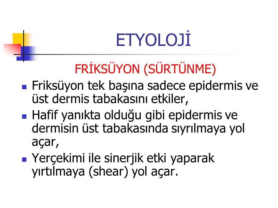 ETYOLOJİ FRİKSÜYON (SÜRTÜNME)
