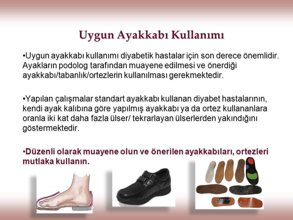 Uygun Ayakkabı Kullanımı