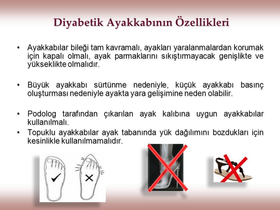 Diyabetik Ayakkabının Özellikleri
