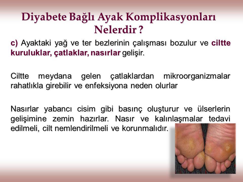 Diyabete Bağlı Ayak Komplikasyonları Nelerdir