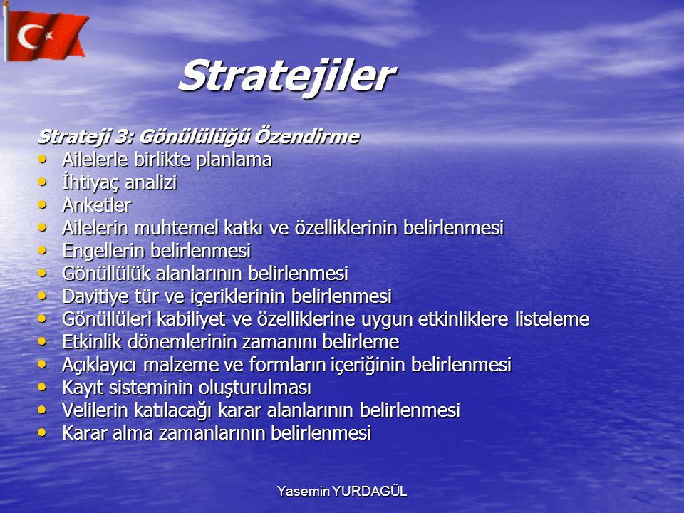 Stratejiler Strateji 3: Gönülülüğü Özendirme