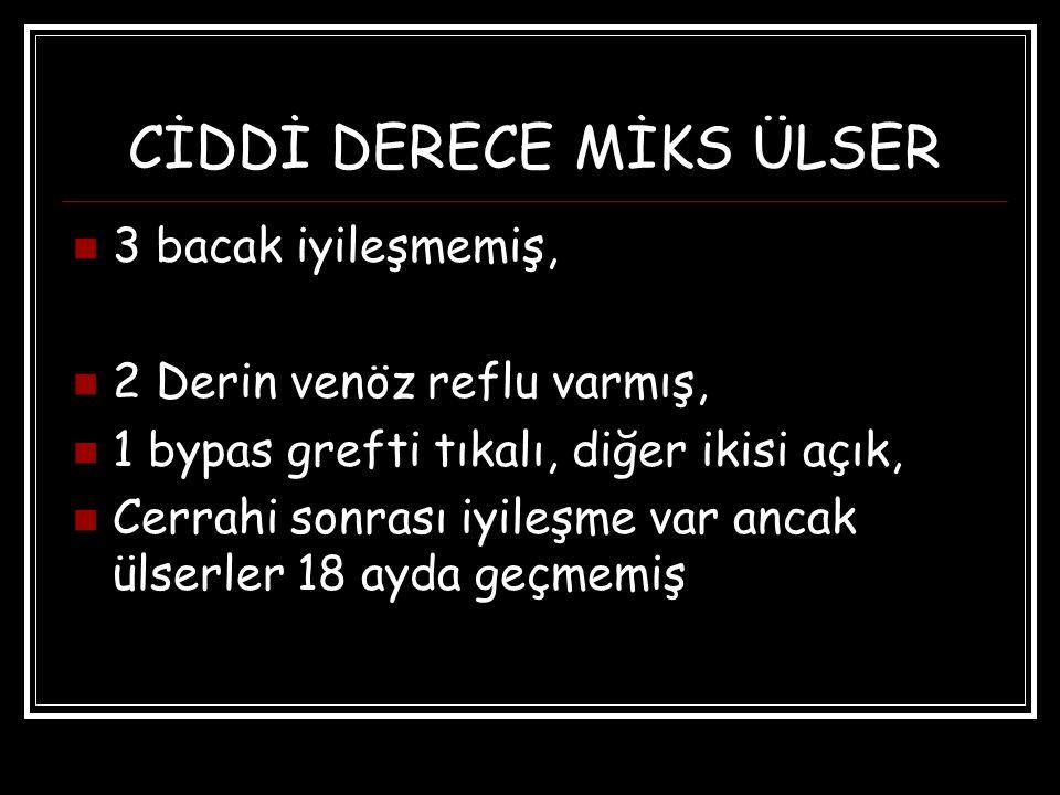 CİDDİ DERECE MİKS ÜLSER