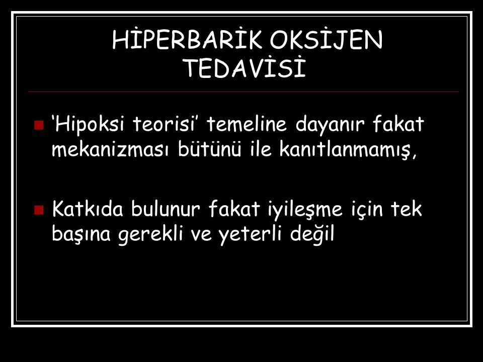 HİPERBARİK OKSİJEN TEDAVİSİ
