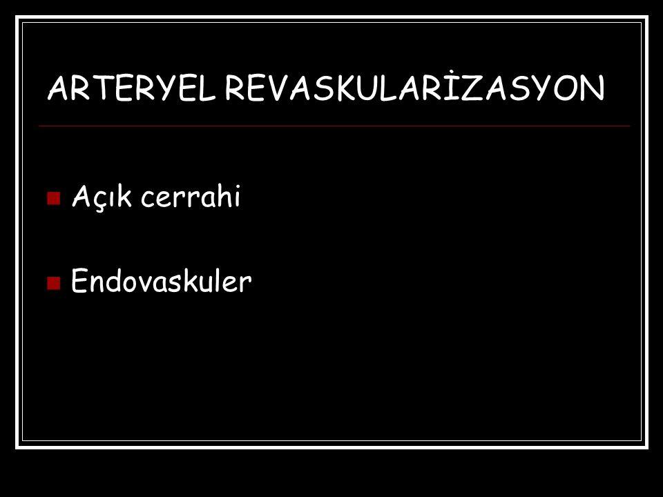 ARTERYEL REVASKULARİZASYON