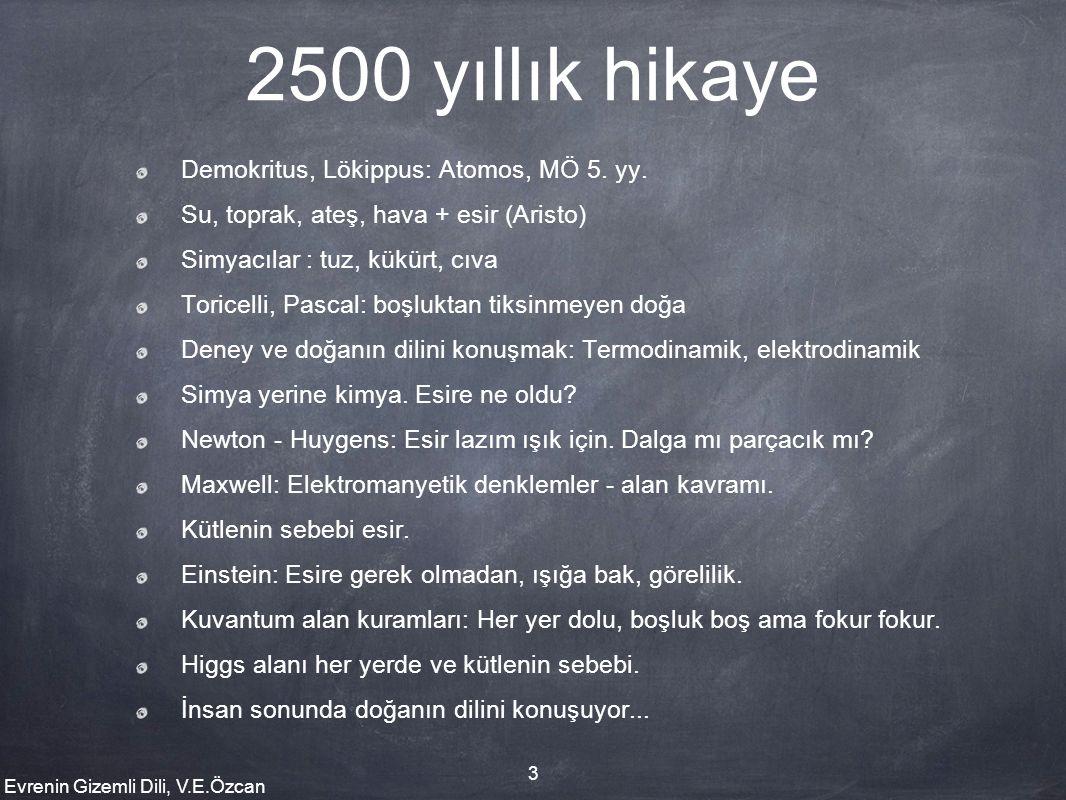 2500 yıllık hikaye Demokritus, Lökippus: Atomos, MÖ 5. yy.