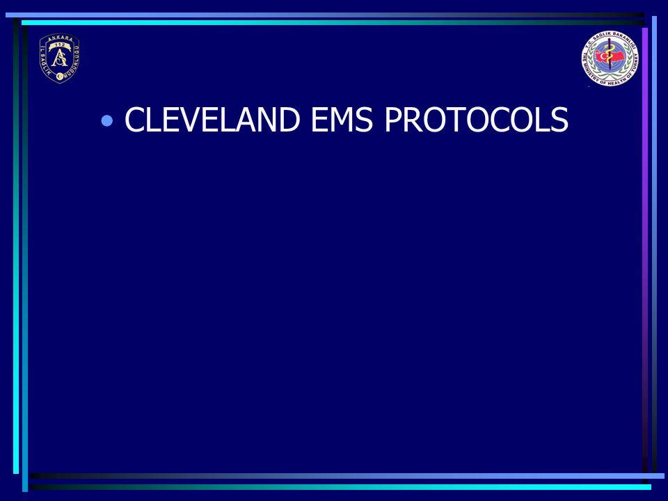 CLEVELAND EMS PROTOCOLS