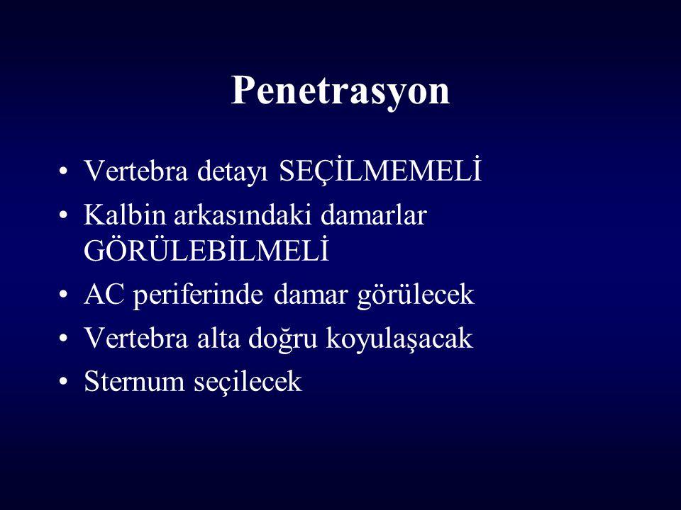 Penetrasyon Vertebra detayı SEÇİLMEMELİ