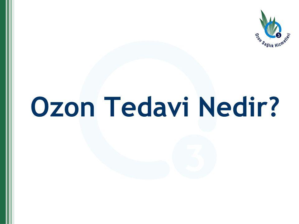 Ozon Tedavi Nedir