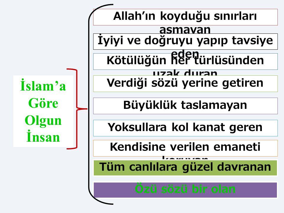 İslam'a Göre Olgun İnsan