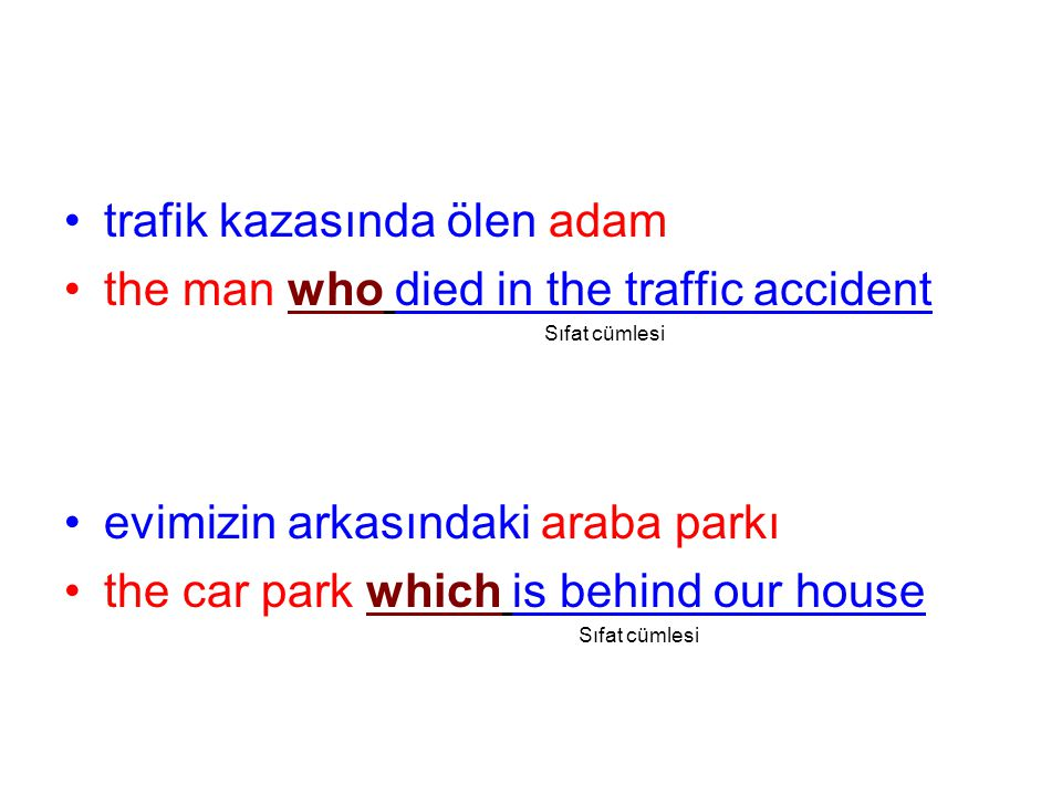 trafik kazasında ölen adam the man who died in the traffic accident