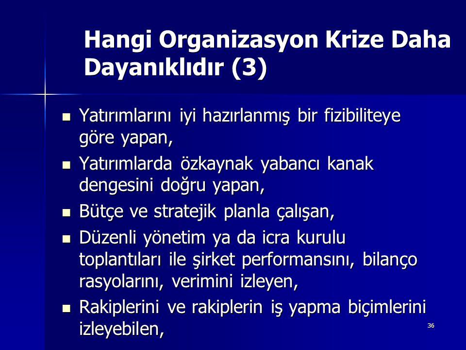 Hangi Organizasyon Krize Daha Dayanıklıdır (3)