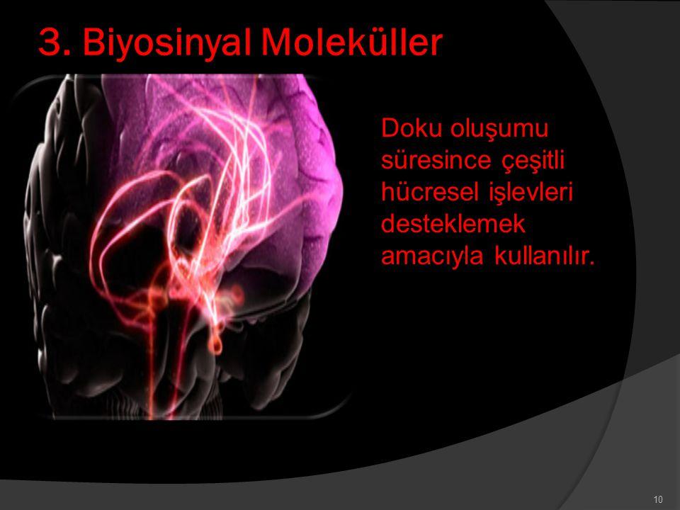3. Biyosinyal Moleküller
