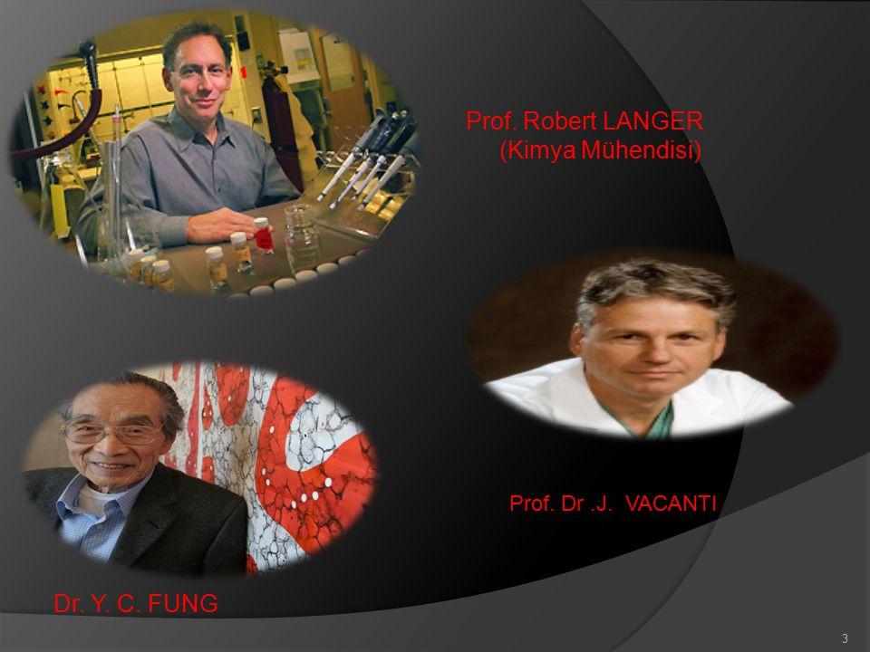 Dr. Y. C. FUNG Prof. Robert LANGER (Kimya Mühendisi)