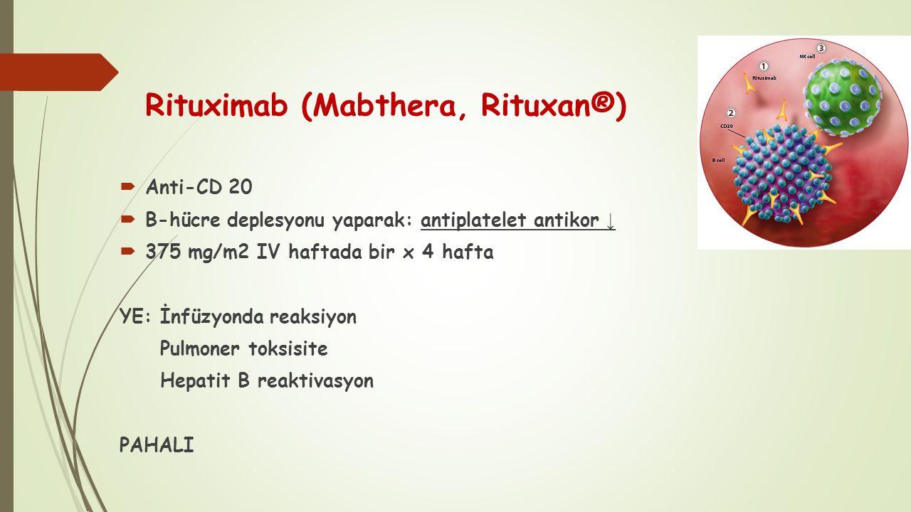 Rituximab (Mabthera, Rituxan®)