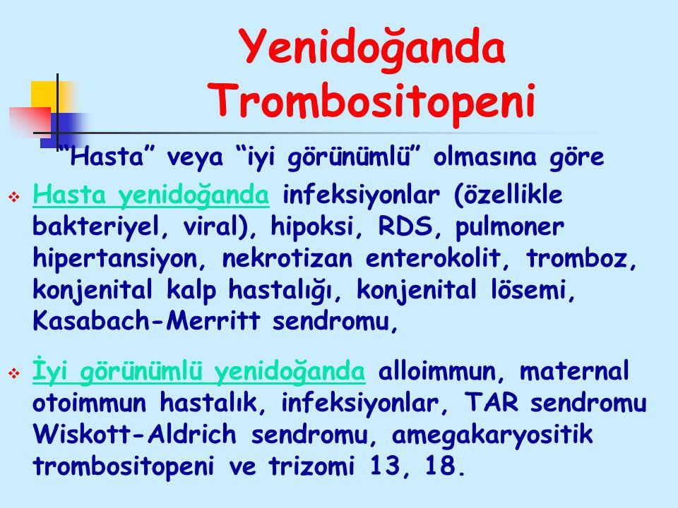 Yenidoğanda Trombositopeni