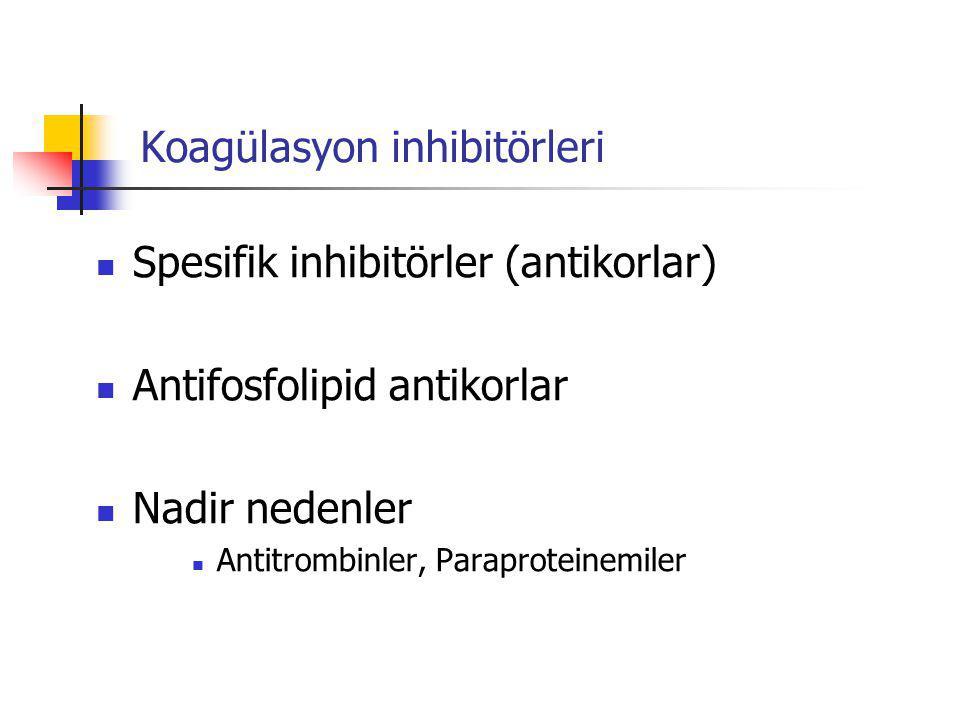 Koagülasyon inhibitörleri