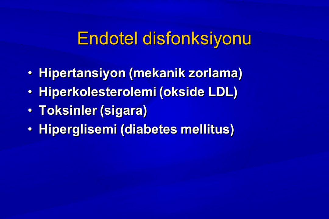 Endotel disfonksiyonu